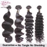 Волосы 100% бразильянина девственницы человеческих волос Gurantee фабрики Unprocessed