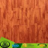 Papel decorativo del grano recto para el suelo