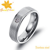 Exsr31 316L Jóias de moda Aço inoxidável Pequenas anéis de aço
