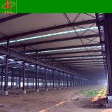 前に構造フレームの鉄骨構造の倉庫を設計するPeb