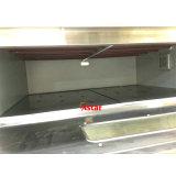 Cubierta de 3 de 6 bandejas Horno eléctrico comercial de la máquina con el equipo de catering