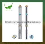 4 pulgadas de alta eficiencia de justo precio de 0,75 KW 1CV sumergibles de pozo profundo bomba de agua de pozo (4SD4-08/750W)