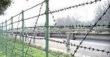 刑務所および空港のための防御フェンスかみそりの有刺鉄線