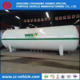 ASME de recipientes de presión 40t del depósito de gas 80000L tanque de almacenamiento de gas para la venta