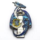 Forma do Dragão de metal personalizada Loja moeda antiga