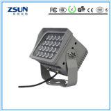 20W는 옥외 IP65 휴대용 재충전용 태양 LED 플러드 빛을 방수 처리한다