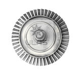 Pièce de bâti de disque de turbine d'Ulas de moulage de précision de pièce de bâti du disque Td1 de turbine