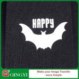 Lueur de qualité de Qingyi Nice en vinyle foncé de transfert thermique pour le textile