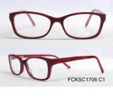 2017 Óculos de óculos ópticos de óculos de óculos de acetato de moda de alta qualidade