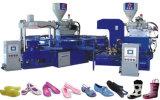 機械を作る2つのカラーゼリーの靴