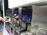 Máquina de gelo de leite com leite popular para lojas frias