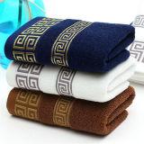 100%年の綿非常に吸収性の刺繍されたタオルの一定のホテルの浴室タオルの余分な物は浴室タオルを考える