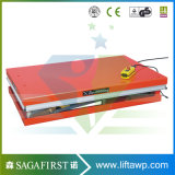 l'elettricità statica elettrica di 1ton Cina Scissor la piattaforma dell'elevatore per le merci di sollevamento con CE