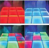 Estágio claro em mudança da noite da multi cor que tinge o diodo emissor de luz Dance Floor para a venda