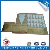Новая конструкция Рождество бумага складная конструкция упаковки с золотой фольги ламинированной бумаги