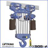 Liftking una gru Chain elettrica di 25 T con gli ami forgiati