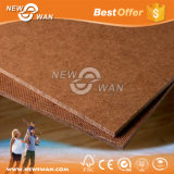HDF Hardboard Placa de fibra de madeira