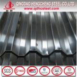 Azulejo de azotea revestido del cinc de los surtidores de la hoja del material para techos de China