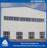 Estructura de acero ligera prefabricada para el taller, almacén de acero
