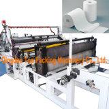 Toiletten-Seidenpapiere, die Maschine rückspulen