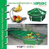 Supermercado vehículo Fruta acrílico estante de exhibición