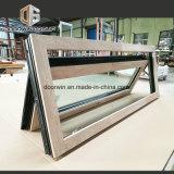 De Aluminio revestido de madera de roble rojo Casement Window