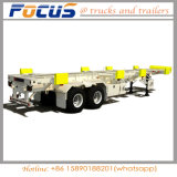 焦点の手段45のフィートのポートで普及したターミナル骨組みポートのトラックのトレーラー