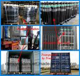 継ぎ目が無い鋼鉄産業酸素ボンベ40L (EN ISO9809-1)
