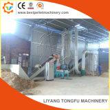 Los planes de molino de pellets de madera la línea de producción para la venta