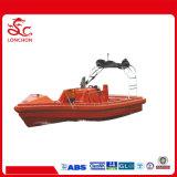 bote de salvamento rígido do motor externo de 4.0m/4.5m