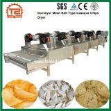 Machine de séchage des aliments de collation de la courroie du convoyeur de copeaux de manioc maille Type de sécheur d'air