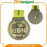 Médaille en alliage de zinc personnalisée de sport