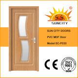Portes moins chères en MDF intérieur à carré creux (SC-P030)