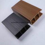 40X25mm composto de plástico de madeira de materiais de construção de painéis do teto
