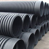 Gewölbtes PET Rohr für den Tiefbauabwasserkanal hergestellt in China
