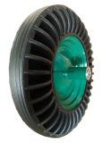 Lo zinco ha placcato la riga della barra di rotella di gomma galvanizzata della carriola Wb6419