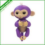 Do brinquedo interativo do macaco do bebê dos peixes pequenos dedo sadio de Zoe