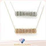 Juwelen van de Halsband van het Ontwerp van de Pijl van de Juwelen van hete het Verkopen Mens&Women van de Kwaliteit Hight de Zilveren vrij Zilveren (N6624)