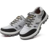 Zapatos de seguridad de acero de los hombres del instalador del casquillo de la punta de la alta calidad