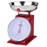 Cuerpo Metel Retro 5kg balanza de resorte mecánico Báscula de cocina