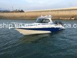 28FT Aluminium-Boot mit halber Kabine