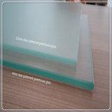 Le verre trempé clair fer Normal/ serre texturée de verre à motifs