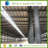 Fabricante industrial incombustible prefabricado de las vertientes del marco de acero en China