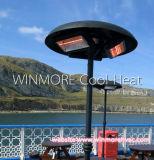 Elemento riscaldante del riscaldatore di energia IP65 fissato al muro per il ristorante/il caffè/barre esterni