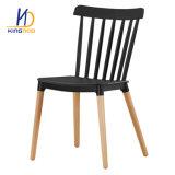 [ووودن لغ] كرسي تثبيت منزل أثاث لازم كرسي تثبيت بلاستيكيّة مع ساق خشبيّة