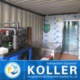 Легко для того чтобы привестись в действие машину льда блока 2 тонн/дня Containerized для горячей области