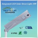 Das anerkannte Cer integrierte alle in einem Solar-LED-Straßenlaterne