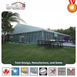 Tente de verre avec couvercle de toit pour l'exposition en plein air d'impression