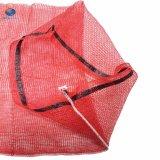 Hot Sale 5kg 10kg 25kg PEHD Sacs en plastique de bonneterie à mailles