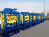 Мониторинг интервала QT4-26 бетонных блоков машины Полуавтоматическая машина для строительных блоков